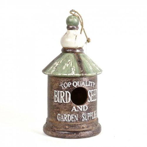 August Grove Holder Polyresin Bird House
