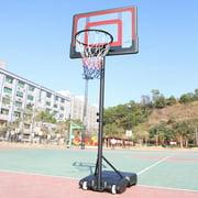 "Clearance! NBA Portable Basketball System - 44"" Polycarbonate Backboard"