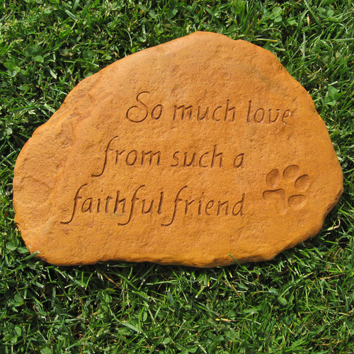 Nichols Bros. Stoneworks Faithful Friend Stone