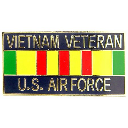 U.S. Air Force Vietnam Veteran Ribbon Pin 1