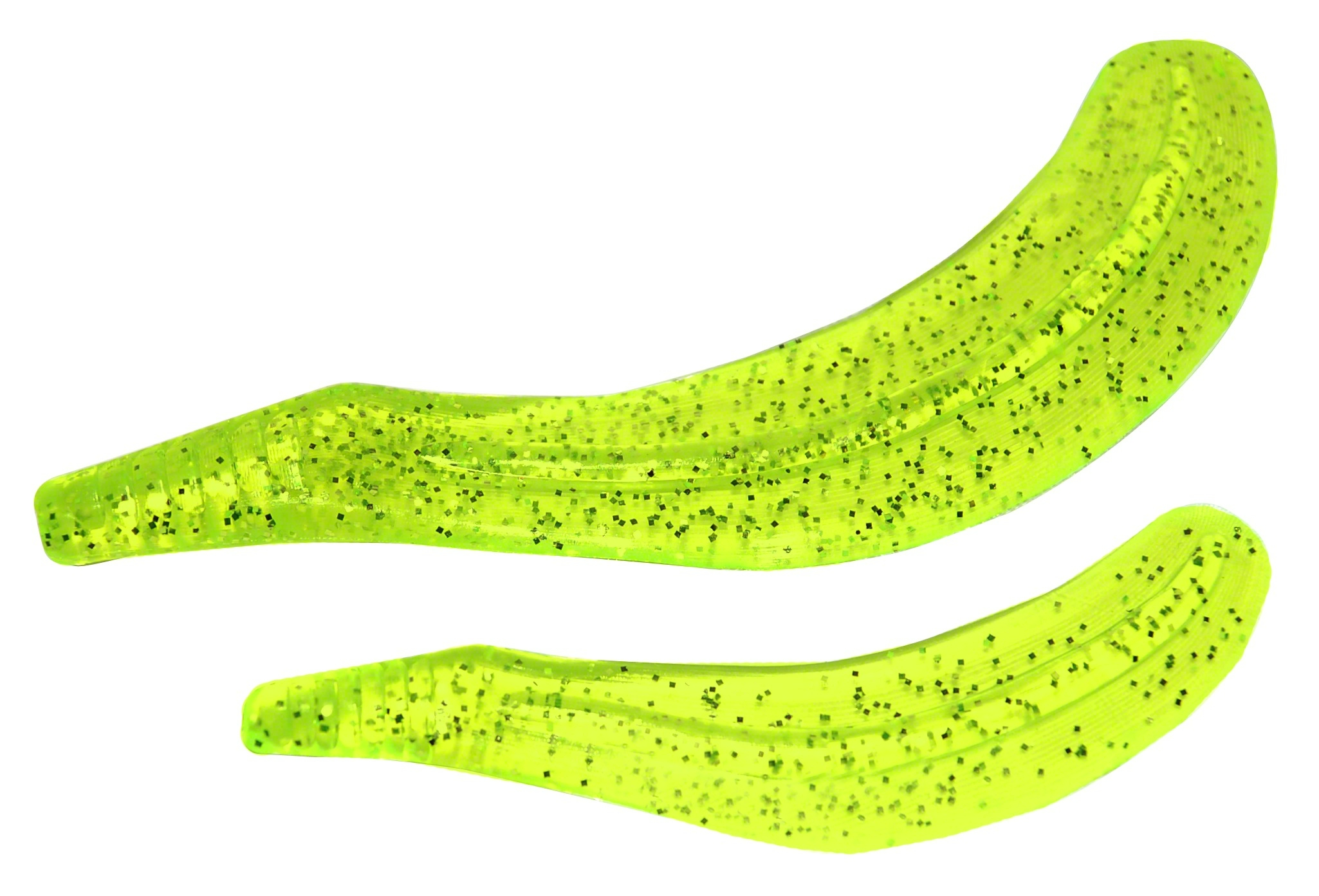 """BayCoast 6HT65 Hyper Tails 6/"""" Silky Chartreuse"""