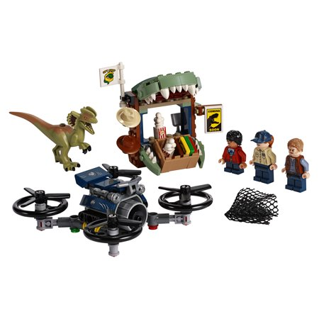 LEGO Jurassic World Dilophosaurus on the Loose 75934 Dinosaur Toy (168 Pieces)