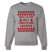 Custom Party Shop Mens My Ugly Christmas Sweater Sweatshirt - X-Large