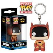 "FunKo POP! 75th Anniversary Orange Batman 1.5"" Keychain"