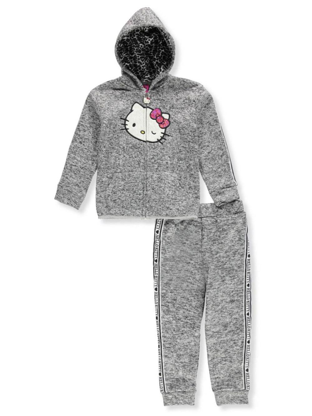 Hello Kitty Girls' 2-Piece Sweatsuit Pants Set