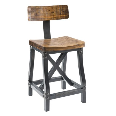Ink Ivy Lancaster Counter Stool With Back