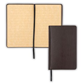 Classic Retro Vintage Leather Bound Blank Pages Notebook Note
