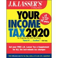 J.K. Lasser: J.K. Lasser's Your Income Tax 2020: For Preparing Your 2019 Tax Return (Paperback)