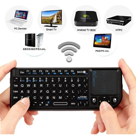 aa9d76c33f7 Rii Mini X1 2.4G Wireless Keyboard With Mouse Touchpad for PC ...
