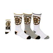 NHL Boston Bruins Youth Crew Socks [3 Pairs]