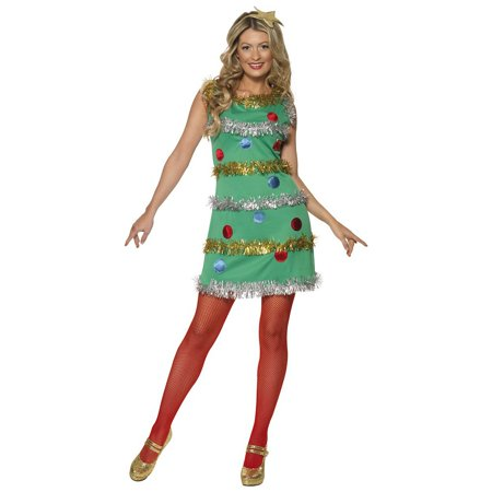 Womens Christmas Tree Costume (Christmas Tree Adult Costume -)
