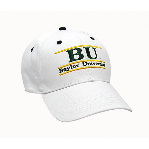 NCAA - Baylor Bears 'The Game' Classic White Bar Adjustable Hat