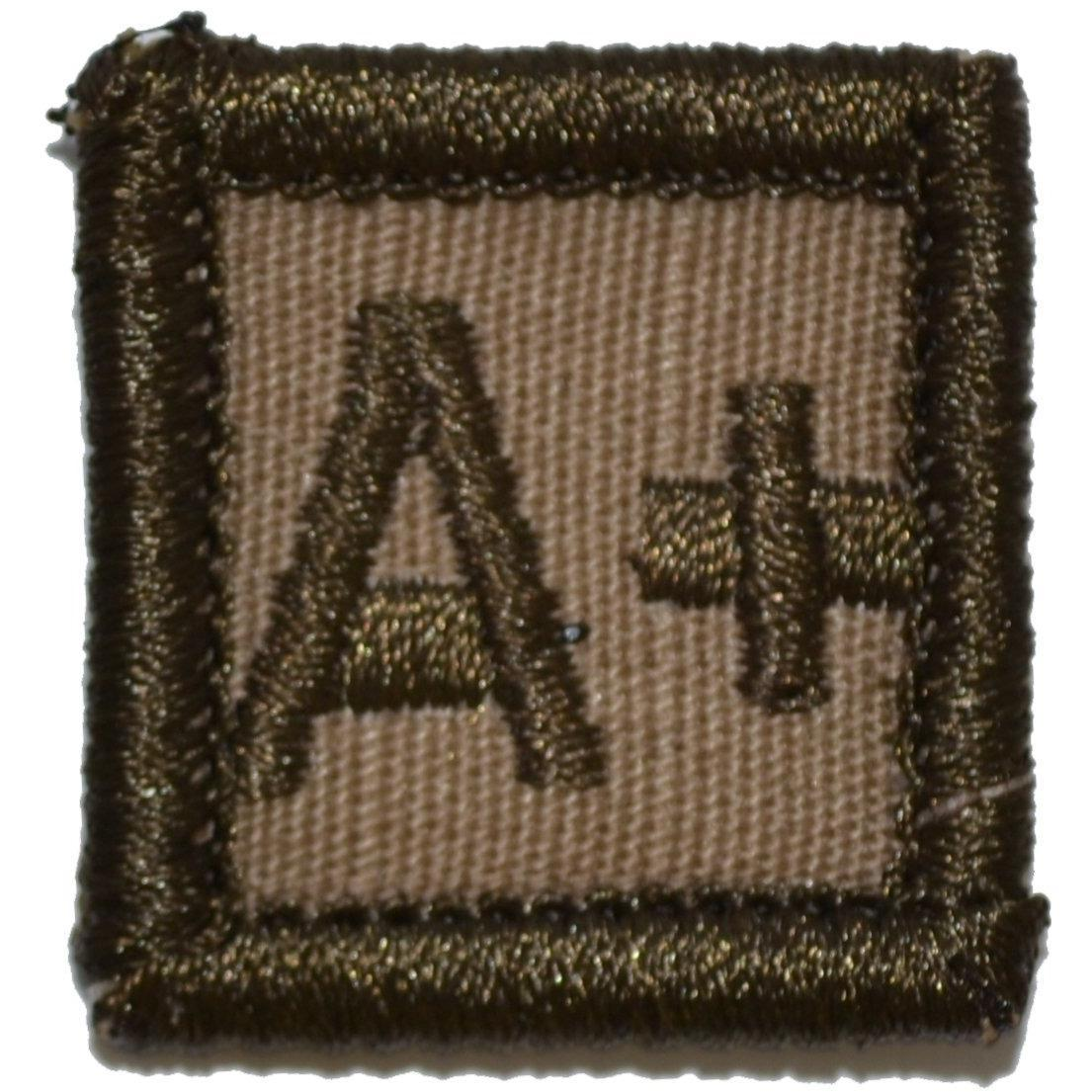 Blood Type A POS - 1x1 Patch