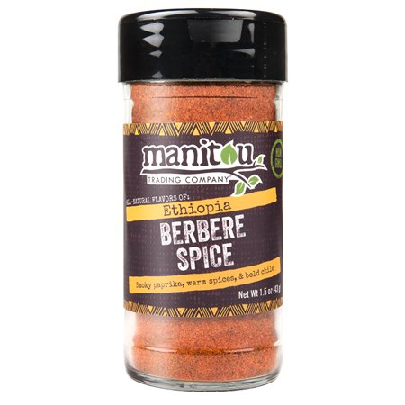 Ethiopian Berbere Spice, 1.5 Ounce Jar (New Orleans Gourmet Food And Spice Company)