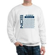 CafePress - NCIS Gibbs' Rules - Crew Neck Sweatshirt