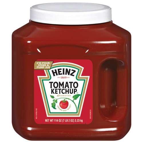 Heinz Ketchup Tomato, 114 oz