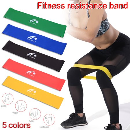 Resistance Bands, Heavy Exercise Loop Workout Flexbands for Legs Butt Glutes Yoga Crossfit Fitness Physical Therapy Home Equipment Training for Women Men