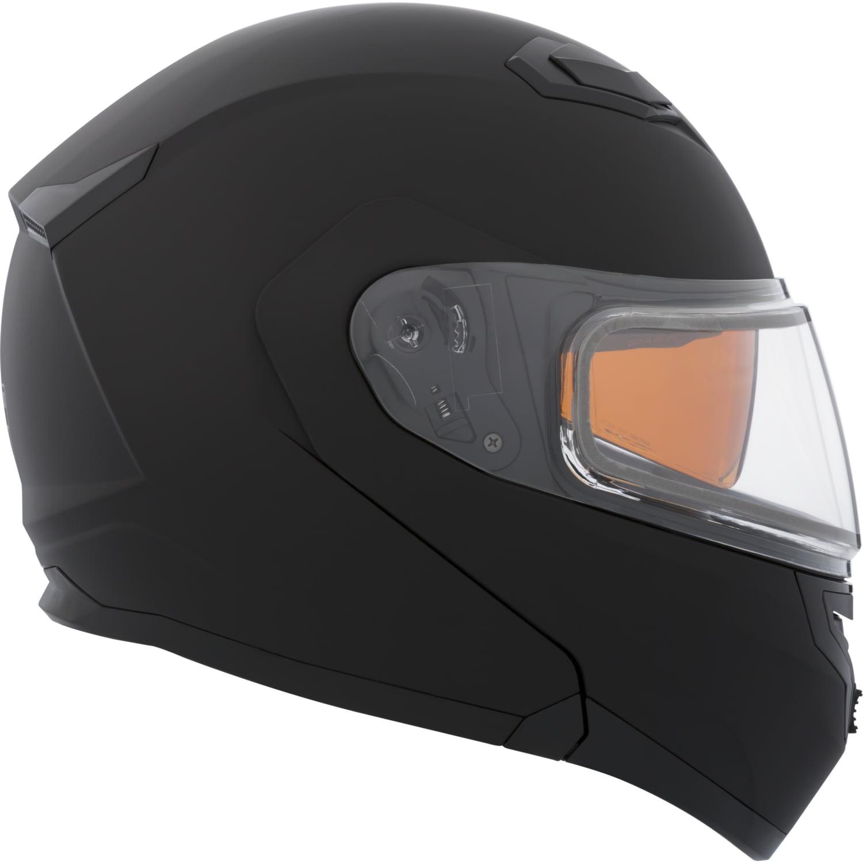 CKX Solid Flex RSV Modular Helmet, Winter Double Shield