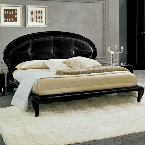 Noci Design Upholstered Platform Bed