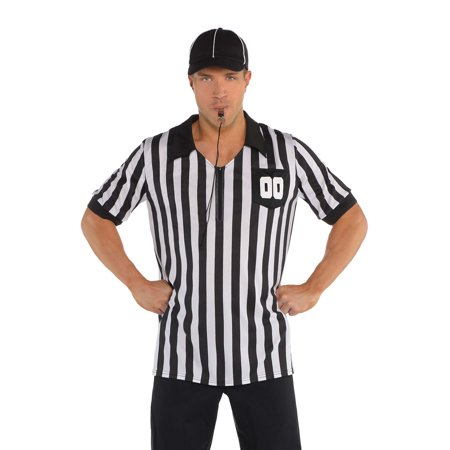 Referee Mens Adult Sports Event Halloween Accessory Kit-XXL