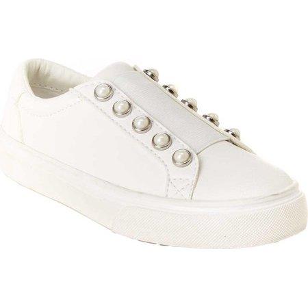 BCBG Girls Mason Pearl Slip-On Sneaker (Little Girls & Big Girls)