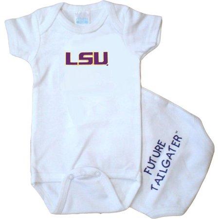 LSU Tiger Future Tailgater Baby Onesie