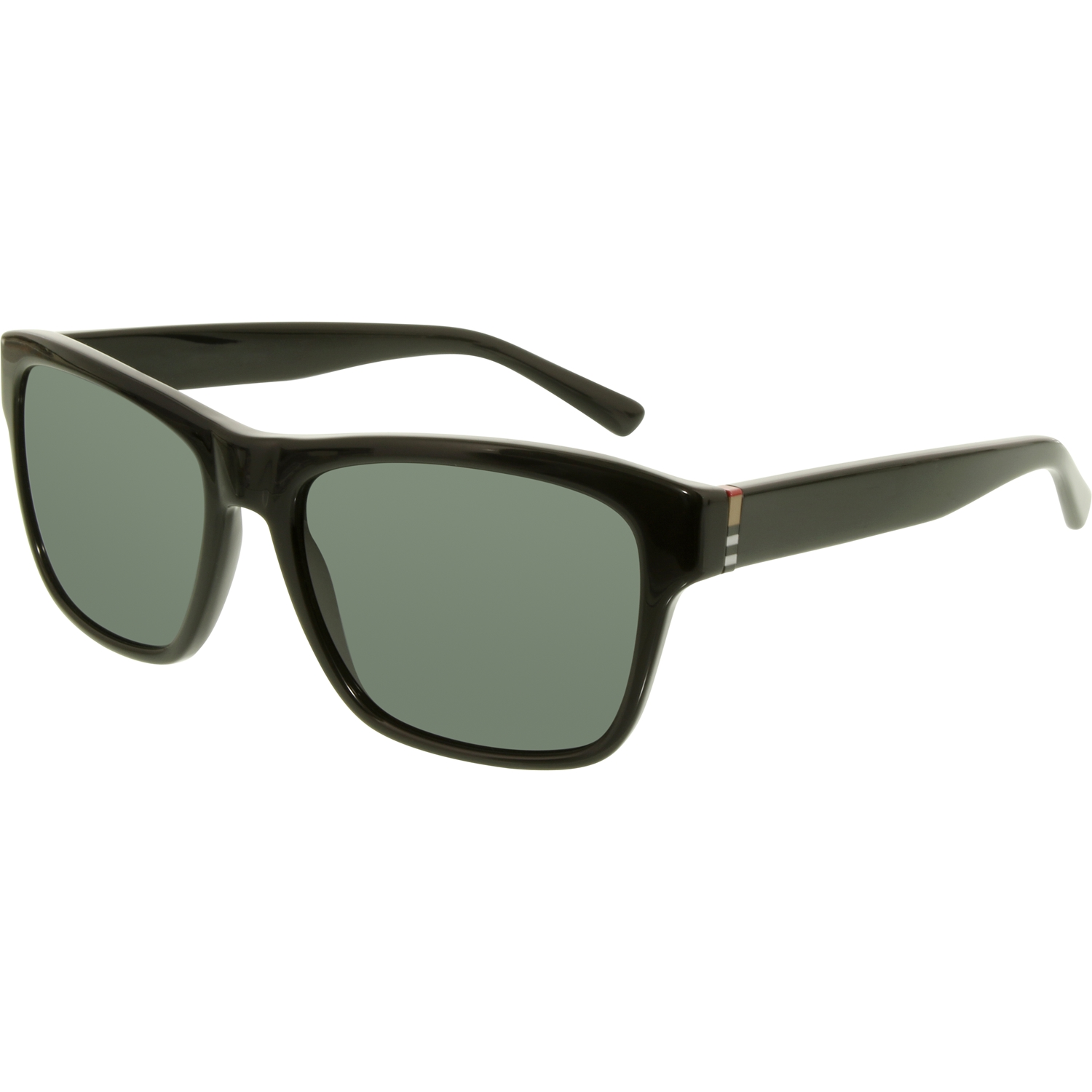 Burberry - Women s BE4194-300187-58 Black Rectangle Sunglasses - Walmart.com 5b29227af2e44