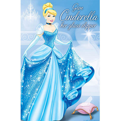 Cinderella Party Game, Blue