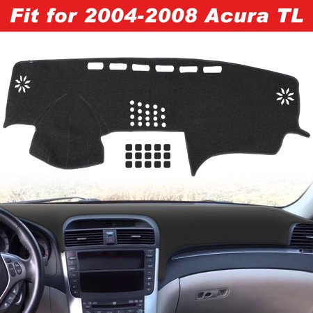 EEEkit Charcoal Carpet Dashboard Cover- Fits  2004,2005,2006,2007,2008 Acura TL,Custom Fit, Easy Installation