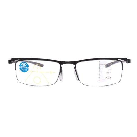 Progressive multi-focus metal solderless point automatic zoom reading glasses - image 9 of 10