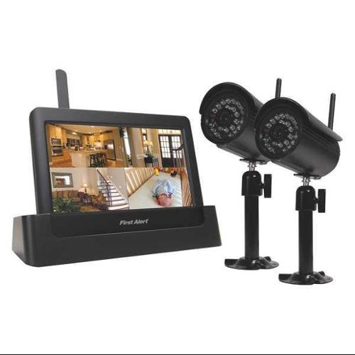 FIRST ALERT DWH-472 Wireless Security System,4 Chnnls,2.4GHz G0151615