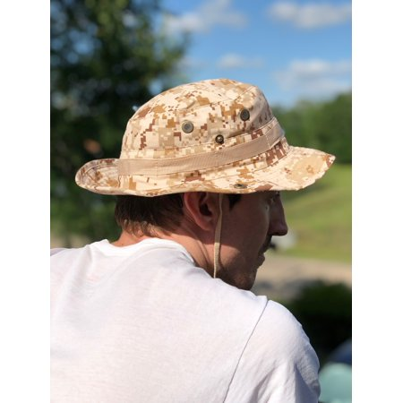 Tactical Boonie Bucket Hat (Brown Camo)](Camo Bucket Hats)