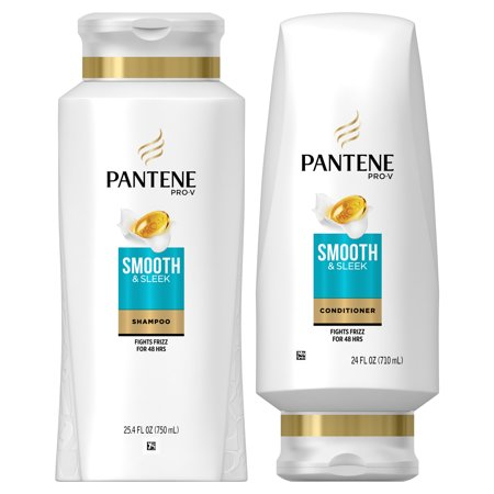 Pantene Pro-V Smooth & Sleek Shampoo and Conditioner Dual Pack - 49.4 fl oz