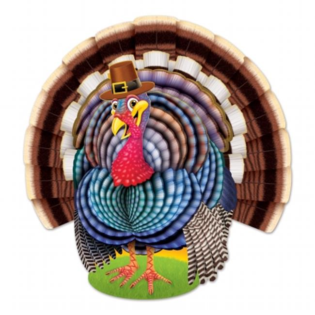 Beistle Company 99732 Jointed Turkey - Pack of 12