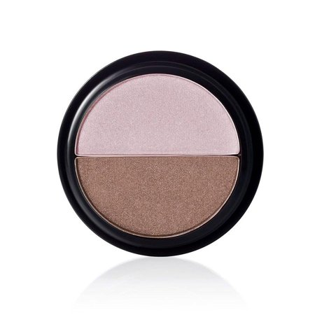 e.l.f. Mocha Swirl Eye Shadow Pressed Powder Makeup Browns Natural Duo Hydrating Designer Mocha Colored Swirl