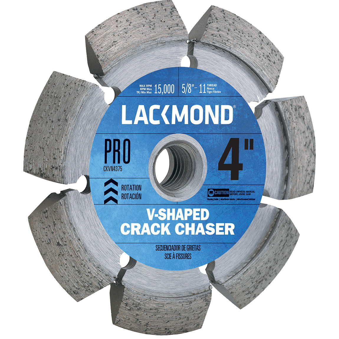 4-Inch Crack Chaser Wheel with 5/8-11 Nut