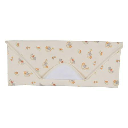 Kissy Kissy Infant (Kissy Kissy Unisex-Baby Infant Mini Ark Print Receiving Blanket Yellow One Size )