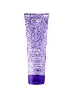 Bust Your Brass Cool Blonde Conditioner by Amika for Unisex - 8.45 oz Conditioner