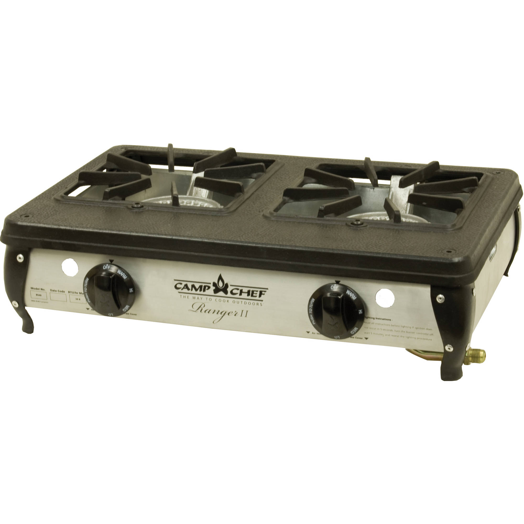 Camp Chef Ranger II Double Burner Table Top Camp Stove
