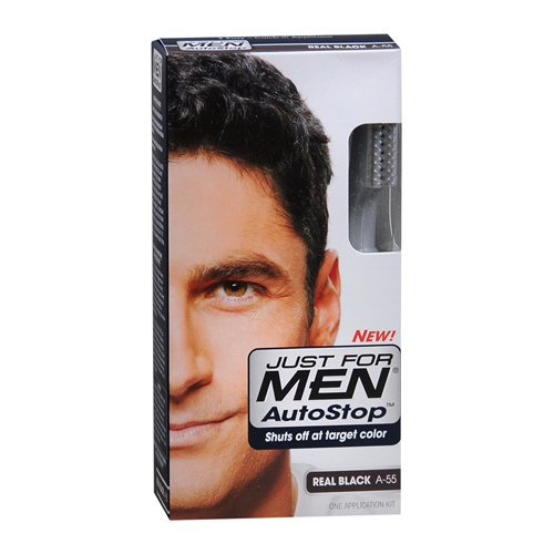 Just For Men Autostop Hair Color, Real Black - Kit