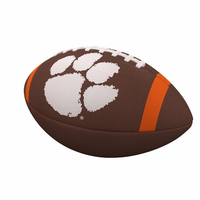 Clemson Team Stripe Official-Size Composite Football