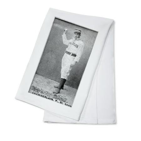 Chamberlain Card (St. Louis Browns - Icebox Chamberlain - Baseball Card (100% Cotton Kitchen Towel) )