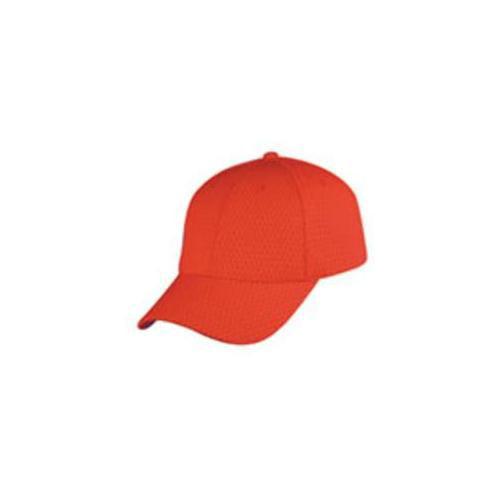 DDI 1474424 Bullet Hole Mesh Cap - Red Case Of 144