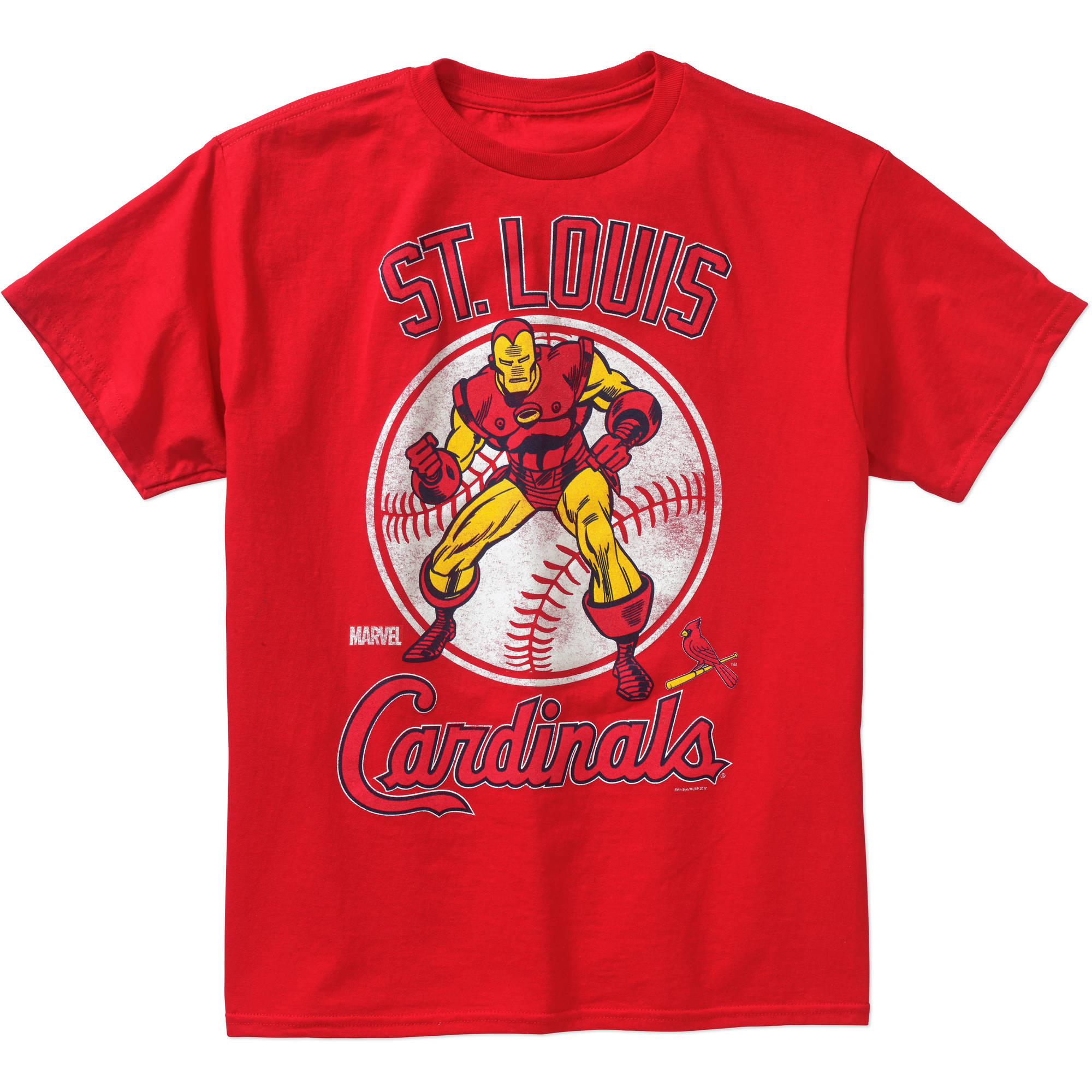 MLB St. Louis Cardinals Boys' Iron Man Tee