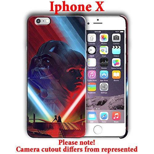 Ganma Hard Case Cover with Star Wars design Case For iPhone X 5.8in