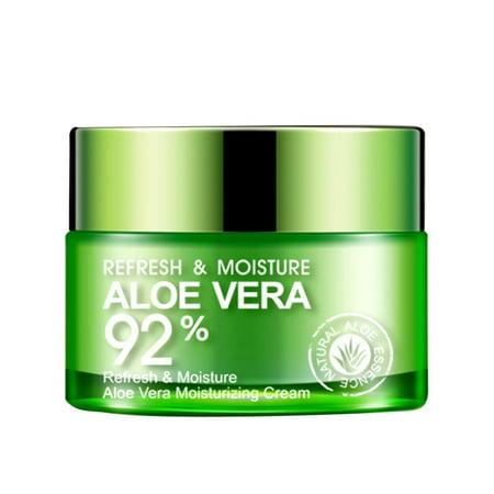 Face Beauty Aloe Vera Gel Skin Repair Refresh Moisturizing Serum Cream Hydrating Nourishing Shrink Pores Oil Control Cream Face Moisturizing Gel