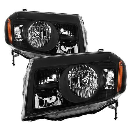 TD Crystal Headlights (Black) - 09- 11 Honda Pilot