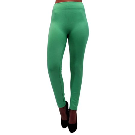 0614d7e33d455 Luxury Divas - Soft Fleece Lined Leggings - Walmart.com