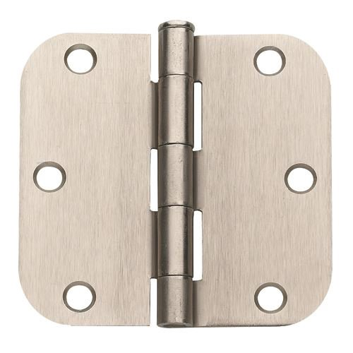 Global Door Controls 3.5'' H   3.5'' W Butt/Ball Bearing Pair Door Hinges (Set of 2)