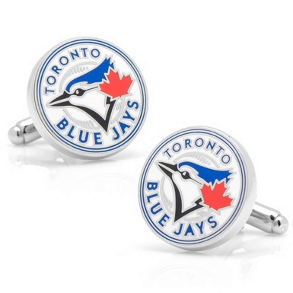 Licensed Toronto Blue Jays Logo Cufflinks MLB